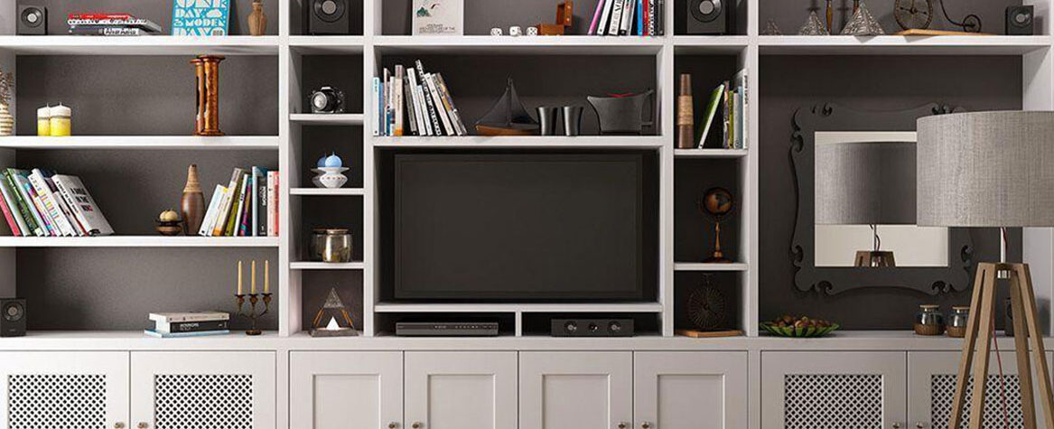 Fitted living room furniture Southampton