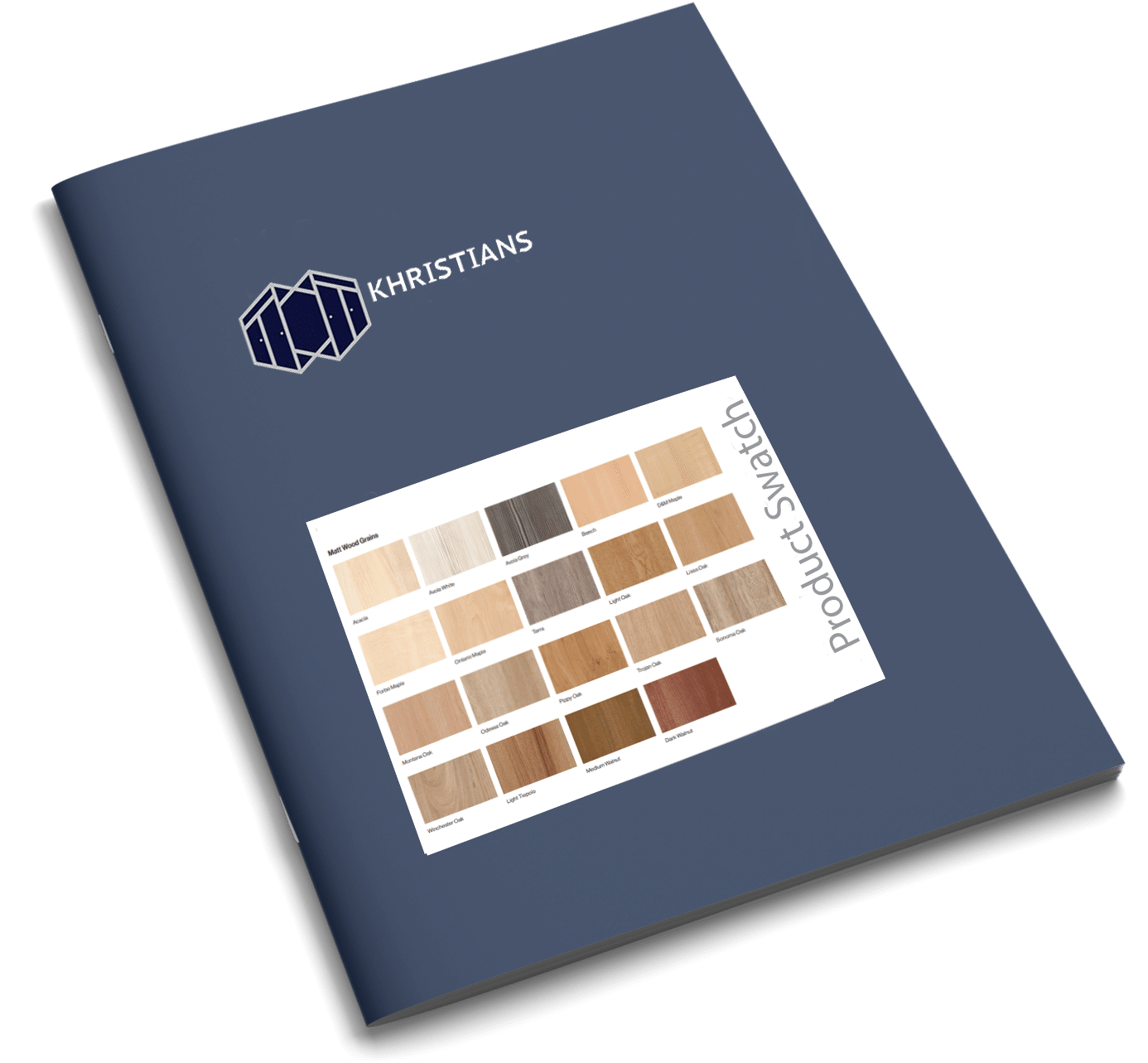 Product swatch brochure cover
